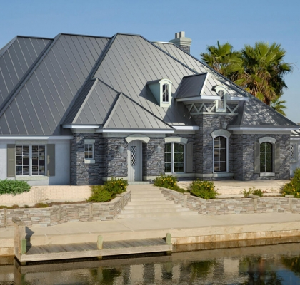 Roofing Contractors Metal Roofing Adhesive Installation